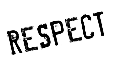 observance: Respect rubber stamp. Grunge design with dust scratches. Effects can be easily removed for a clean, crisp look. Color is easily changed.
