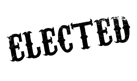 voted: Elected rubber stamp. Grunge design with dust scratches. Effects can be easily removed for a clean, crisp look. Color is easily changed.