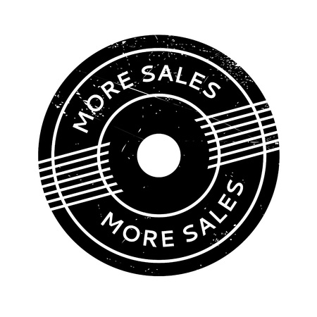 innumerable: More Sales rubber stamp. Grunge design with dust scratches. Effects can be easily removed for a clean, crisp look. Color is easily changed.