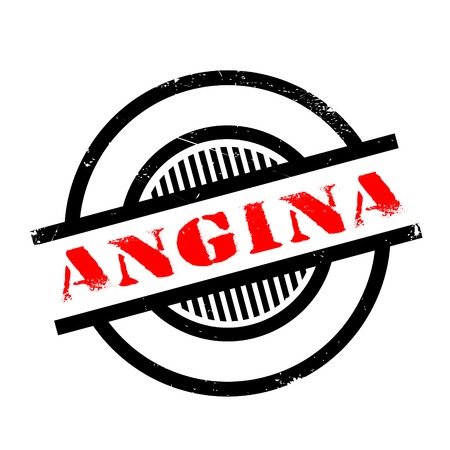 angor: Angina rubber stamp. Grunge design with dust scratches. Effects can be easily removed for a clean, crisp look. Color is easily changed.