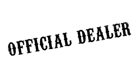 conclusive: Official Dealer rubber stamp. Grunge design with dust scratches. Effects can be easily removed for a clean, crisp look. Color is easily changed.