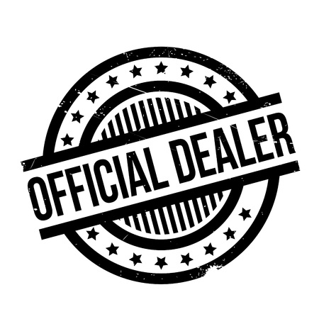 retailer: Official Dealer rubber stamp. Grunge design with dust scratches. Effects can be easily removed for a clean, crisp look. Color is easily changed.