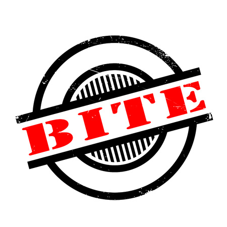 designated: Bite rubber stamp. Grunge design with dust scratches. Effects can be easily removed for a clean, crisp look. Color is easily changed.