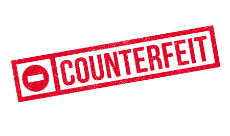 bogus: Counterfeit rubber stamp. Grunge design with dust scratches. Effects can be easily removed for a clean, crisp look. Color is easily changed. Illustration