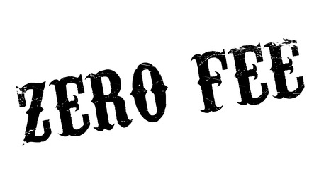 honorarium: Zero Fee rubber stamp. Grunge design with dust scratches. Effects can be easily removed for a clean, crisp look. Color is easily changed.
