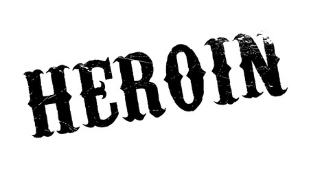 dope: Heroin rubber stamp. Grunge design with dust scratches. Effects can be easily removed for a clean, crisp look. Color is easily changed. Illustration