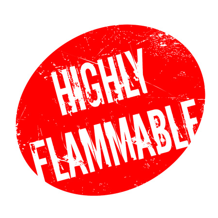 combustible: Highly Flammable rubber stamp. Grunge design with dust scratches. Effects can be easily removed for a clean, crisp look. Color is easily changed.