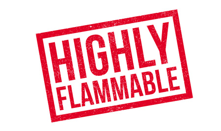 burnable: Highly Flammable rubber stamp. Grunge design with dust scratches. Effects can be easily removed for a clean, crisp look. Color is easily changed.