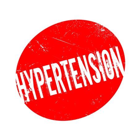 systolic: Hypertension rubber stamp. Grunge design with dust scratches. Effects can be easily removed for a clean, crisp look. Color is easily changed.