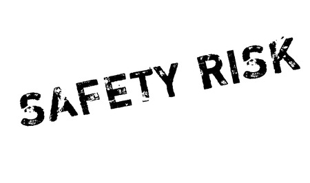 unprotected: Safety Risk rubber stamp. Grunge design with dust scratches. Effects can be easily removed for a clean, crisp look. Color is easily changed.
