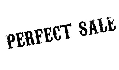 faultless: Perfect Sale rubber stamp Illustration