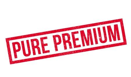 Pure Premium rubber stamp
