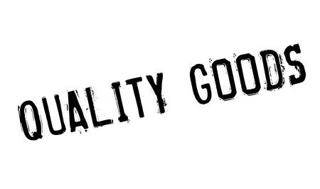 paraphernalia: Quality Goods rubber stamp Illustration
