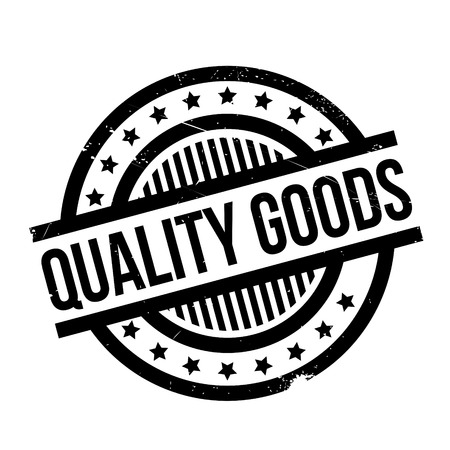Quality Goods rubber stamp Illustration