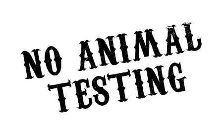 untamed: No Animal Testing rubber stamp. Grunge design with dust scratches. Effects can be easily removed for a clean, crisp look. Color is easily changed.