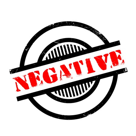 unaccepted: Negative rubber stamp. Grunge design with dust scratches. Effects can be easily removed for a clean, crisp look. Color is easily changed. Stock Photo
