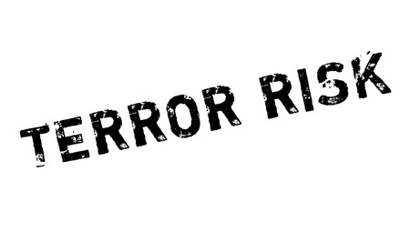removed: Terror Risk rubber stamp. Grunge design with dust scratches. Effects can be easily removed for a clean, crisp look. Color is easily changed.