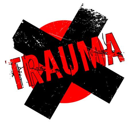 psique: Sello de goma de trauma. Diseño de Grunge con los rasguños polvo. Los efectos se pueden quitar fácilmente para una apariencia limpia y nítida. En color se cambia fácilmente.
