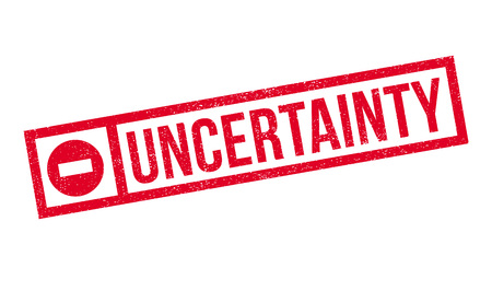 undetermined: Uncertainty rubber stamp. Grunge design with dust scratches. Effects can be easily removed for a clean, crisp look. Color is easily changed.