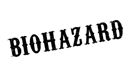 containment: Biohazard rubber stamp. Grunge design with dust scratches. Effects can be easily removed for a clean, crisp look. Color is easily changed.