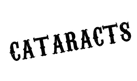 clouding: Cataracts rubber stamp. Grunge design with dust scratches. Effects can be easily removed for a clean, crisp look. Color is easily changed.