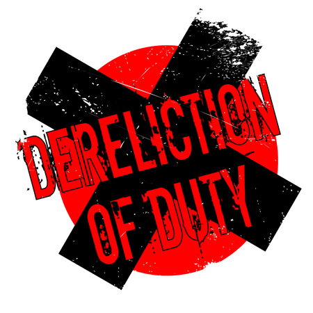 acquittal: Dereliction Of Duty rubber stamp. Grunge design with dust scratches. Effects can be easily removed for a clean, crisp look. Color is easily changed.
