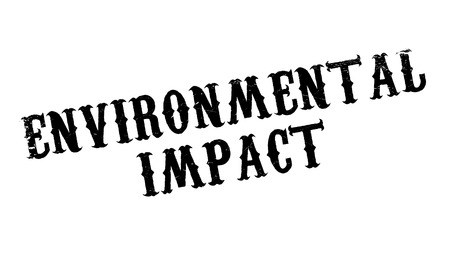 impacted: Environmental Impact rubber stamp. Grunge design with dust scratches. Effects can be easily removed for a clean, crisp look. Color is easily changed.