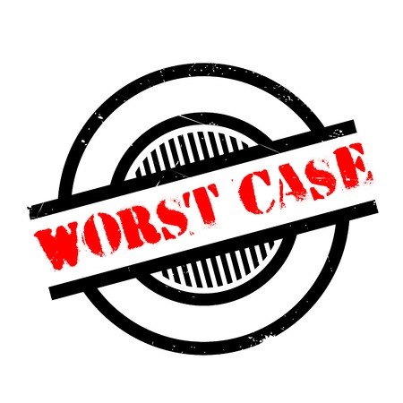 poronienie: Worst Case rubber stamp. Grunge design with dust scratches. Effects can be easily removed for a clean, crisp look. Color is easily changed.