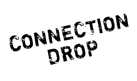 acquaintance: Connection Drop rubber stamp. Grunge design with dust scratches. Effects can be easily removed for a clean, crisp look. Color is easily changed.