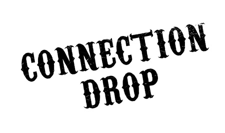 reciprocity: Connection Drop rubber stamp. Grunge design with dust scratches. Effects can be easily removed for a clean, crisp look. Color is easily changed.