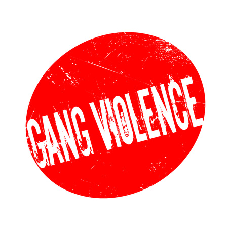antisocial: Gang Violence rubber stamp. Grunge design with dust scratches. Effects can be easily removed for a clean, crisp look. Color is easily changed.