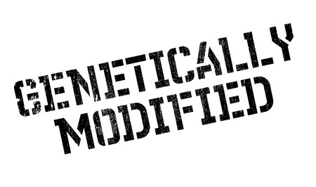 genetically modified crops: Genetically Modified rubber stamp. Grunge design with dust scratches. Effects can be easily removed for a clean, crisp look. Color is easily changed.