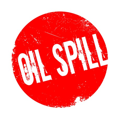 oil spill: Oil Spill rubber stamp. Grunge design with dust scratches. Effects can be easily removed for a clean, crisp look. Color is easily changed.
