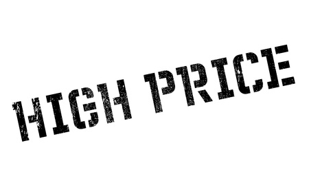 high priced: High Price rubber stamp. Grunge design with dust scratches. Effects can be easily removed for a clean, crisp look. Color is easily changed.