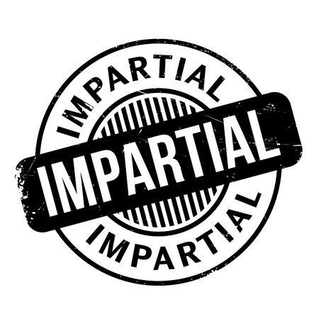 impartiality: Impartial rubber stamp. Grunge design with dust scratches. Effects can be easily removed for a clean, crisp look. Color is easily changed.