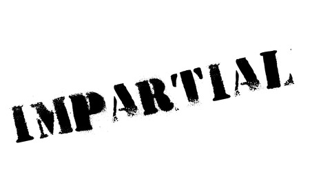partisan: Impartial rubber stamp. Grunge design with dust scratches. Effects can be easily removed for a clean, crisp look. Color is easily changed.