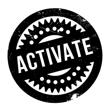 kickoff: Activate rubber stamp. Grunge design with dust scratches. Effects can be easily removed for a clean, crisp look. Color is easily changed.
