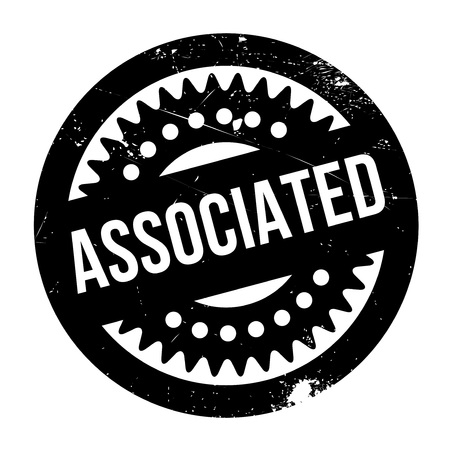 Associated rubber stamp. Grunge design with dust scratches. Effects can be easily removed for a clean, crisp look. Color is easily changed. Illustration