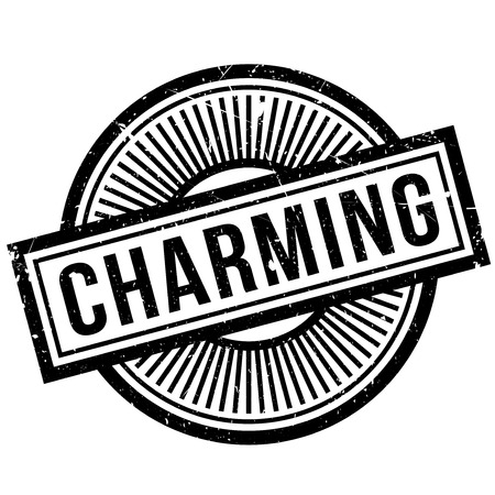 good looking: Charming rubber stamp. Grunge design with dust scratches. Effects can be easily removed for a clean, crisp look. Color is easily changed.