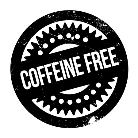 complimentary: Coffeine Free rubber stamp. Grunge design with dust scratches. Effects can be easily removed for a clean, crisp look. Color is easily changed.