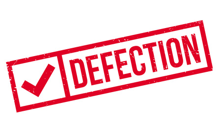 defective: Defection rubber stamp. Grunge design with dust scratches. Effects can be easily removed for a clean, crisp look. Color is easily changed. Illustration