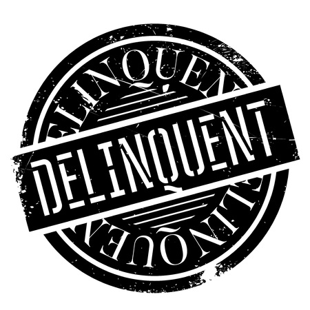 culprit: Delinquent rubber stamp. Grunge design with dust scratches. Effects can be easily removed for a clean, crisp look. Color is easily changed.