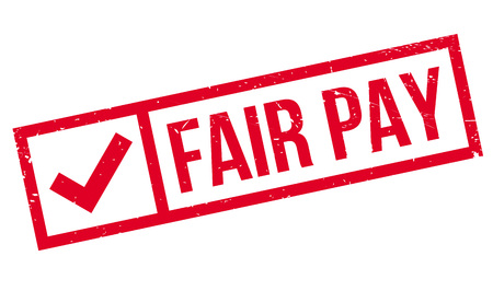 fairly: Fair Pay rubber stamp. Grunge design with dust scratches. Effects can be easily removed for a clean, crisp look. Color is easily changed.