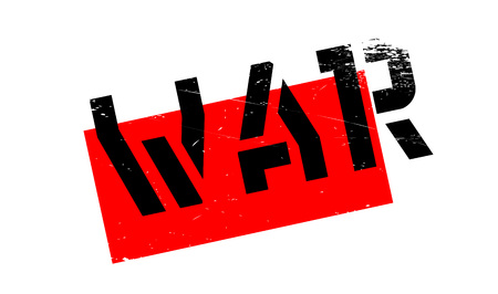 controversy: War rubber stamp. Grunge design with dust scratches. Effects can be easily removed for a clean, crisp look. Color is easily changed.