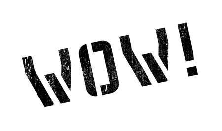 abbreviated: Wow! rubber stamp. Grunge design with dust scratches. Effects can be easily removed for a clean, crisp look. Color is easily changed.