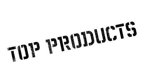 commodity: Top Products rubber stamp. Grunge design with dust scratches. Effects can be easily removed for a clean, crisp look. Color is easily changed.