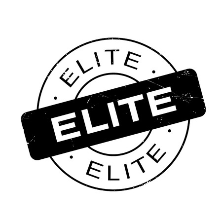 elite: Elite rubber stamp. Grunge design with dust scratches. Effects can be easily removed for a clean, crisp look. Color is easily changed.