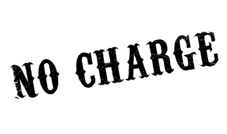 extortion: No Charge rubber stamp. Grunge design with dust scratches. Effects can be easily removed for a clean, crisp look. Color is easily changed.