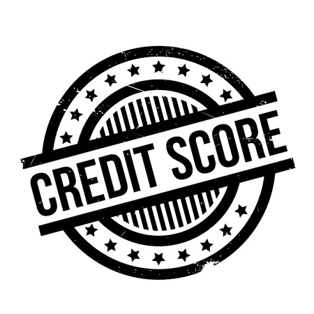 worthy: Credit Score rubber stamp. Grunge design with dust scratches. Effects can be easily removed for a clean, crisp look. Color is easily changed.
