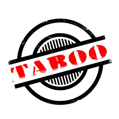 validate: Taboo rubber stamp. Grunge design with dust scratches. Effects can be easily removed for a clean, crisp look. Color is easily changed.
